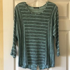Papermoon Light Sweater...3/4 length sleeves